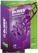Антивирус Dr.Web PRO для Windows для 2 ПК